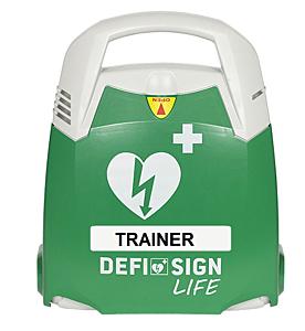 DefiSign AED övningshjärtstartare