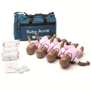 Baby Anne 4-pack (mörk hud)