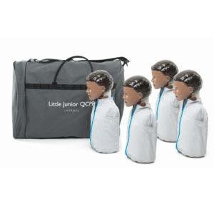 Laerdal Little Junior QCPR 4 pack (Mörk hud)